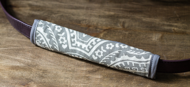 DIY Padded Luggage Strap Cover
