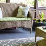 Porch Reveal - Loveseat and Pond