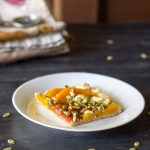 Butternut Squash Tart with Tomatoes and Goat Cheese