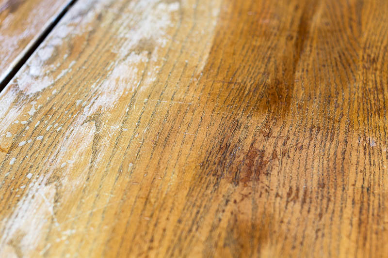 refinish-table-top-first-coat-of-stain