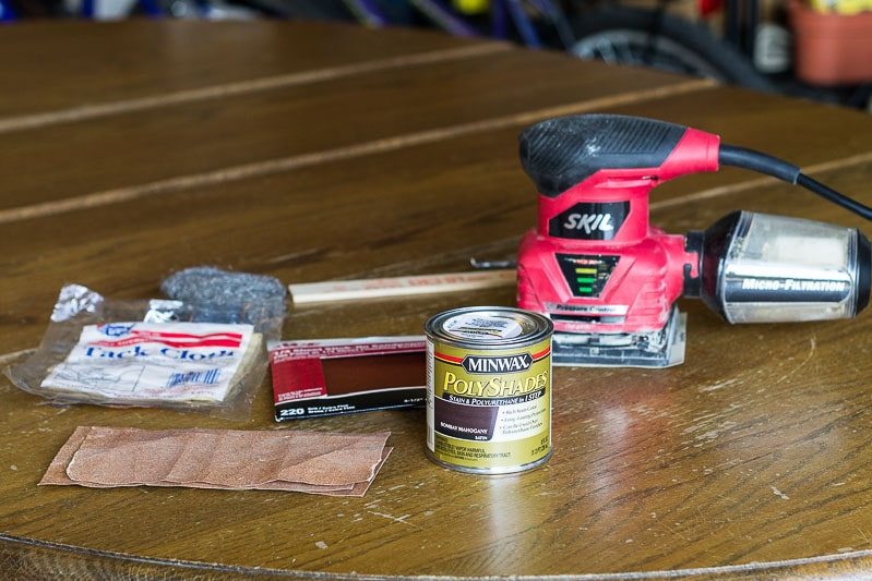 refinishing-wood-tabletop-materials