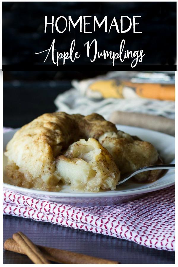 Homemade Apple Dumplings