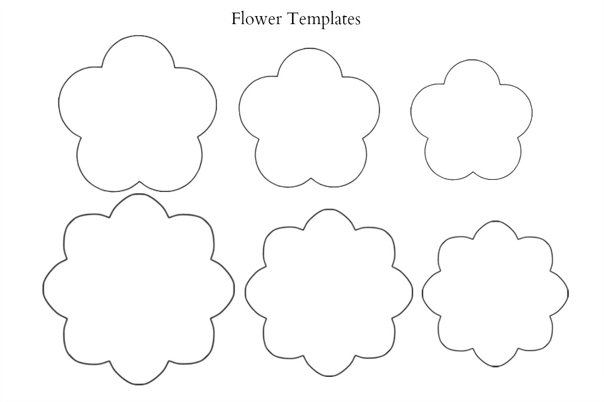 Flower templates to print