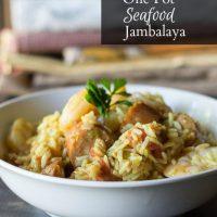 One Pot Seafood Jambalaya to Feed a Crowd