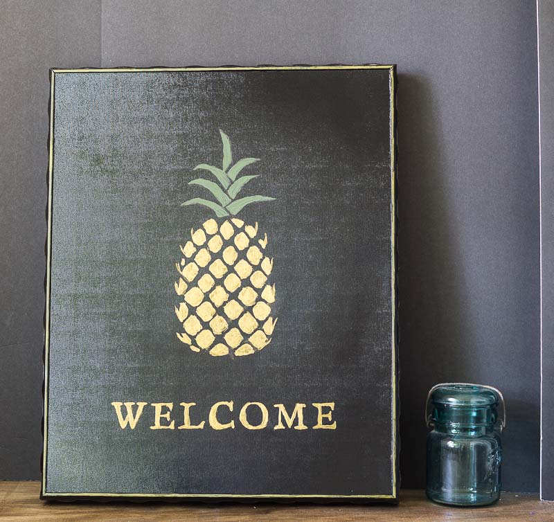 How to Make a Pineapple Welcome Sign