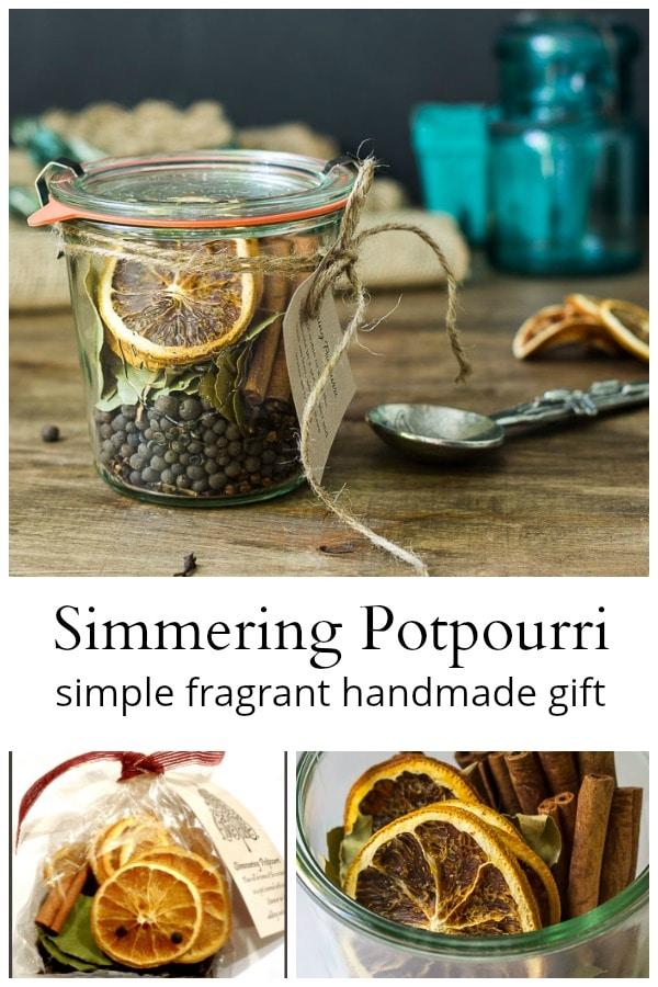 Simmering potpourri handmade gift