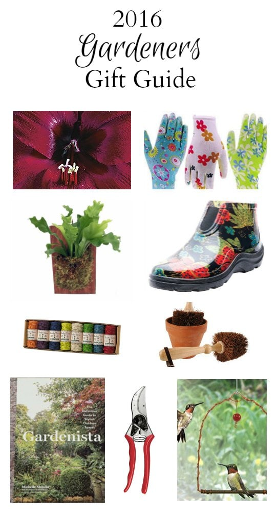 This garden lovers gift guide lists new and a few tried and true favorites, ranging from necessary to nice to have products, every gardener would enjoy.