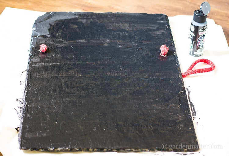 black-paint-on-slate