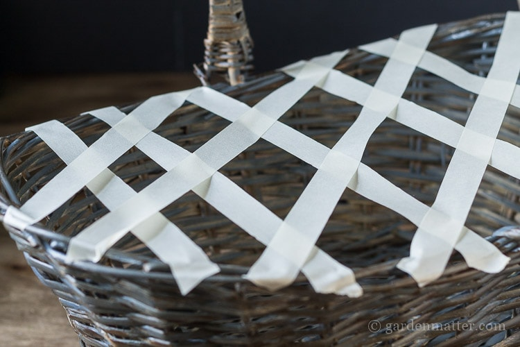 hydrangea-basket-masking-tape-grid