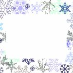 Winter White Invitation Template
