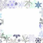 Winter White Invitation Template