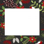 Christmas Template Black