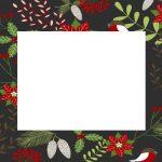 Christmas Template Black