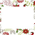 Christmas White Invitation Template