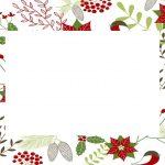 Christmas White Invitation Template