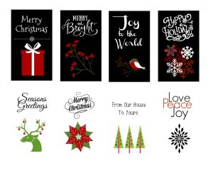 Christmas Tags image