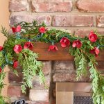 egg-carton-garland-on-mantel