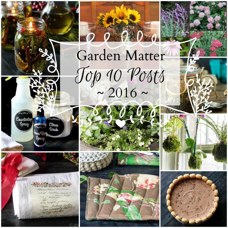 Garden Matter – Top 10 Posts of 2016