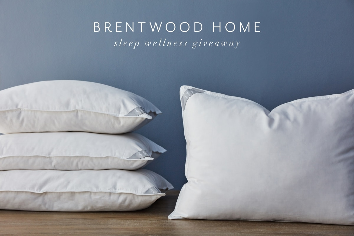 Learn about the handcrafted natural pillows from Brentwood Home and how they can help you experience a more restful night's sleep.