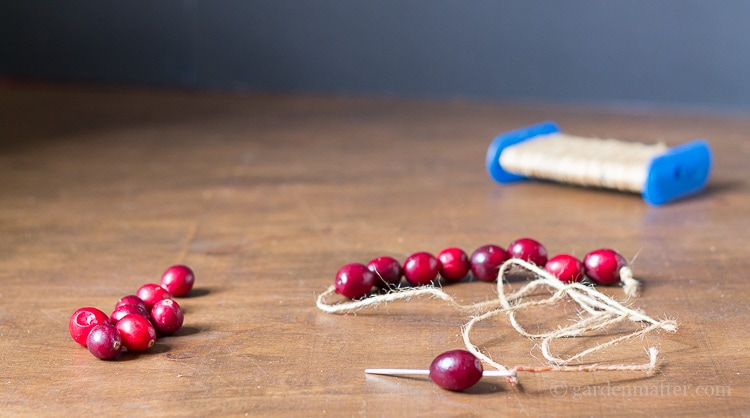 Woodland-Tree-Real-Cranberry-Garland