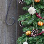 Rustic Handmade Decorations Christmas tree