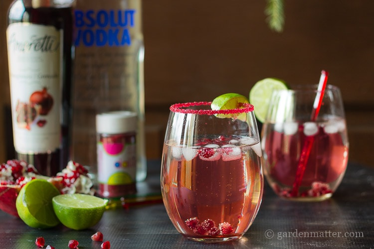 Entertaining and The Moscow Pom Cocktail Recipe