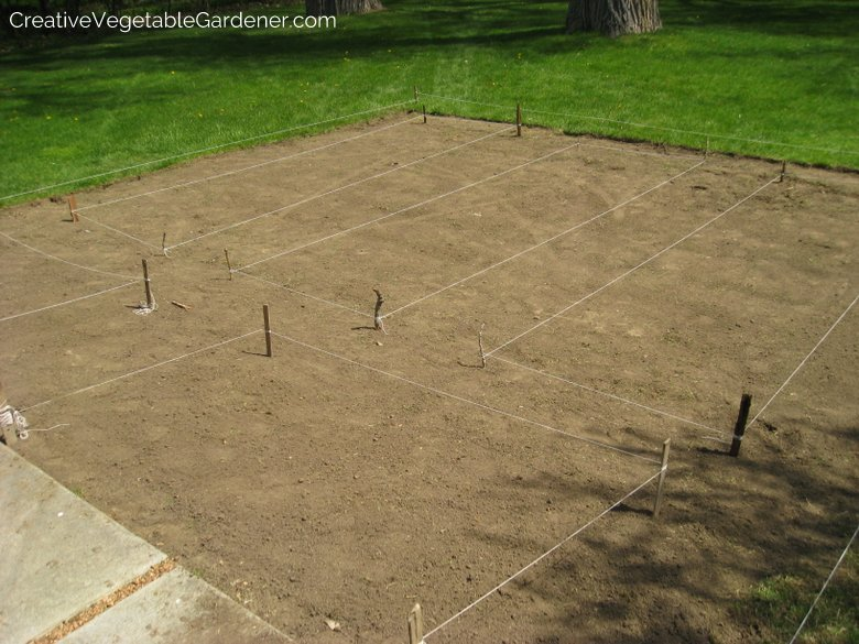 Use this trick to layout your garden