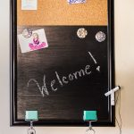 Learn how to make an easy and inexpensive message board.