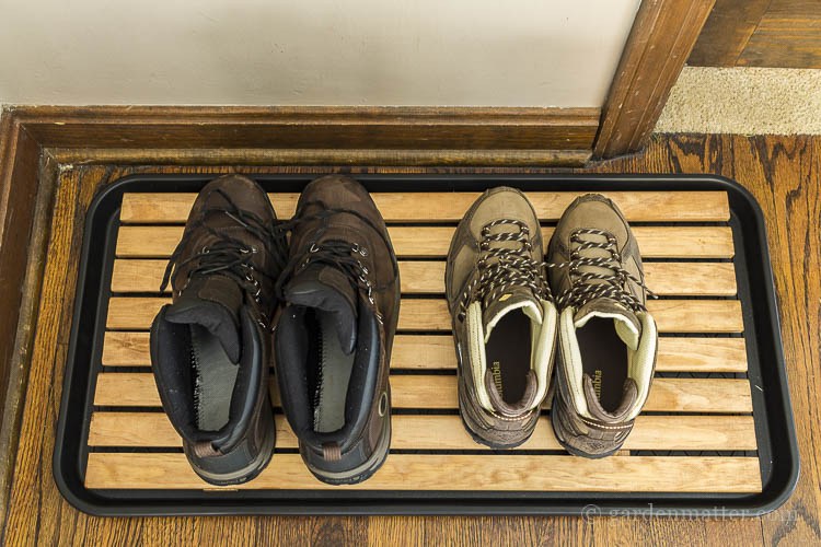 DIY Attractive Wooden Boot Tray For Your Foyer | Hearth & Vine