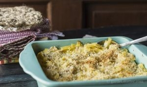 Learn how to make a delicious tuna noodle casserole from scratch.