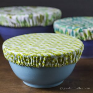 Learn how to make these beautiful fabric bowl covers to keep your dishes fresh and give a gifts.