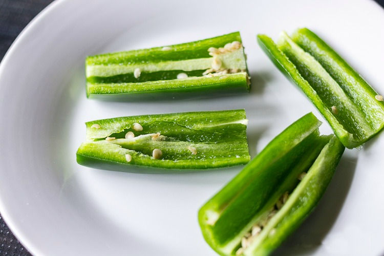Jalapeno pepper sliced