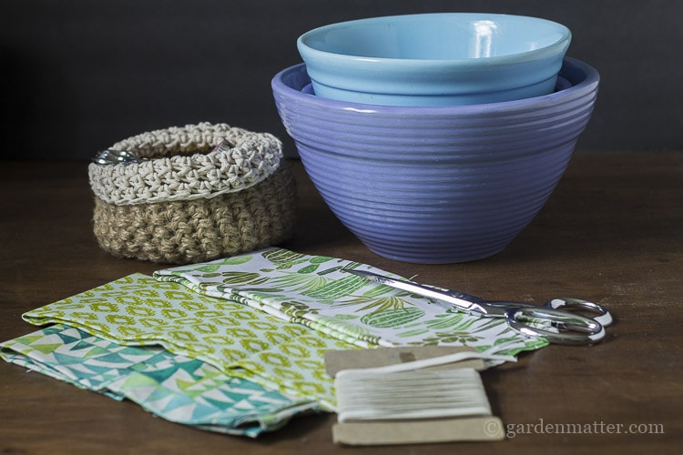 Materials For Making Fabric Bowl Covers