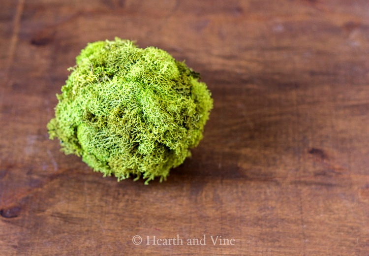 moss covered ball