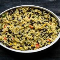 Southwest Rice & Black Bean Casserole