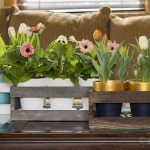How to Create a Wood Crate Flower Centerpiece