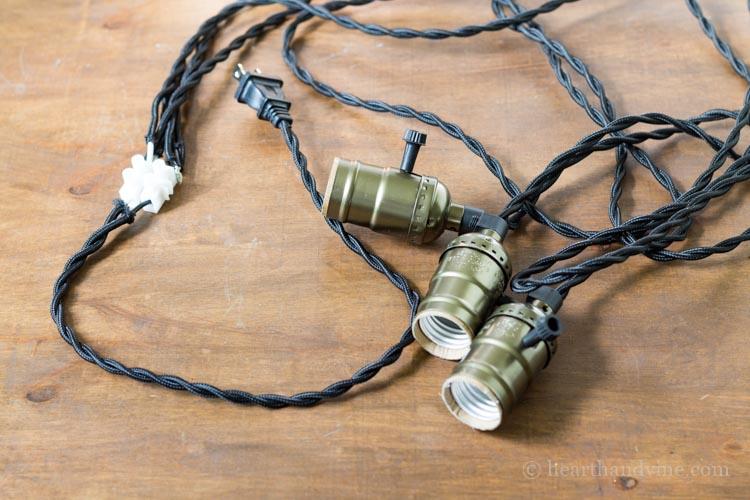Pendant light kit