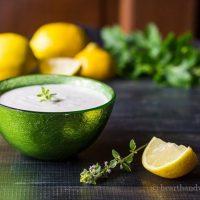 Creamy Lemon Thyme Dip