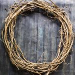 How to Make a Wild Grapevine Wreath