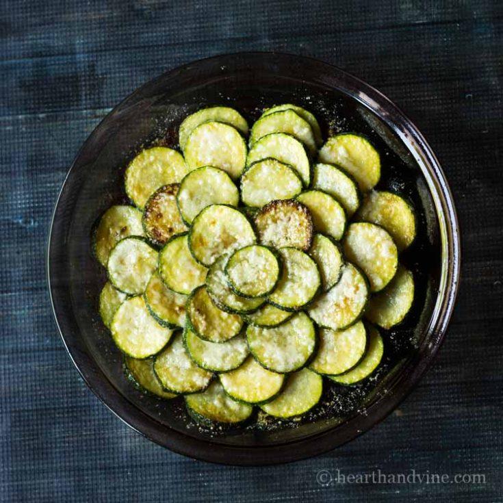 Simple Zucchini Gratin