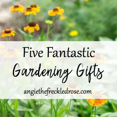 5 Gardening gifts