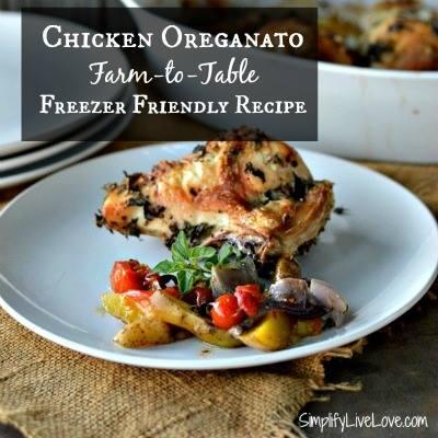 Chicken oregano recipe from Simplify Live Love