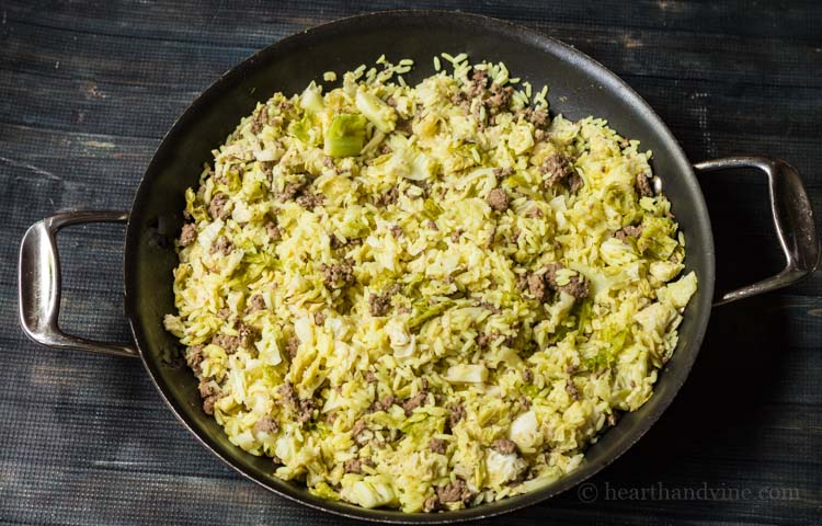 Lebanese Stuffed Cabbage Casserole