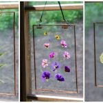 Pressed Flower Suncatcher: Easy and Inexpensive Gift to Make