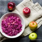 Red Cabbage Apple Slaw – A Pretty and Tasty Recipe