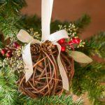 Kissing Ball Ornament For Beautiful Natural Decor