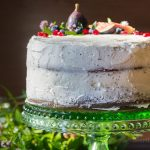 This naked cake recipe is a great way to get creative by focusing on decorating the top with beautiful fruits and botanicals.