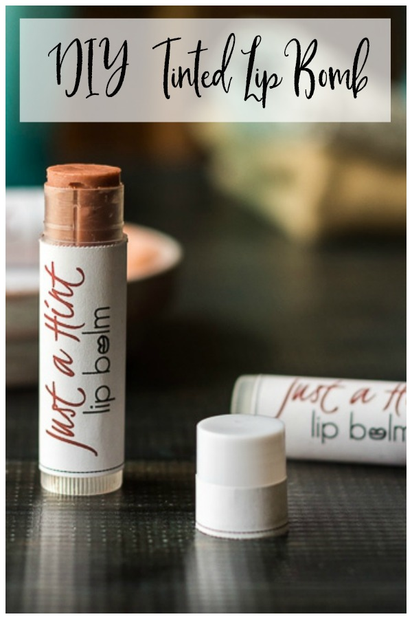 Tinted lipbalm