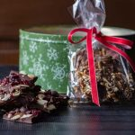Chocolate bark ideas for gifts.