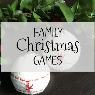 These family Christmas games are a great way to add some fun in your holiday celebration and work well for people of all ages.